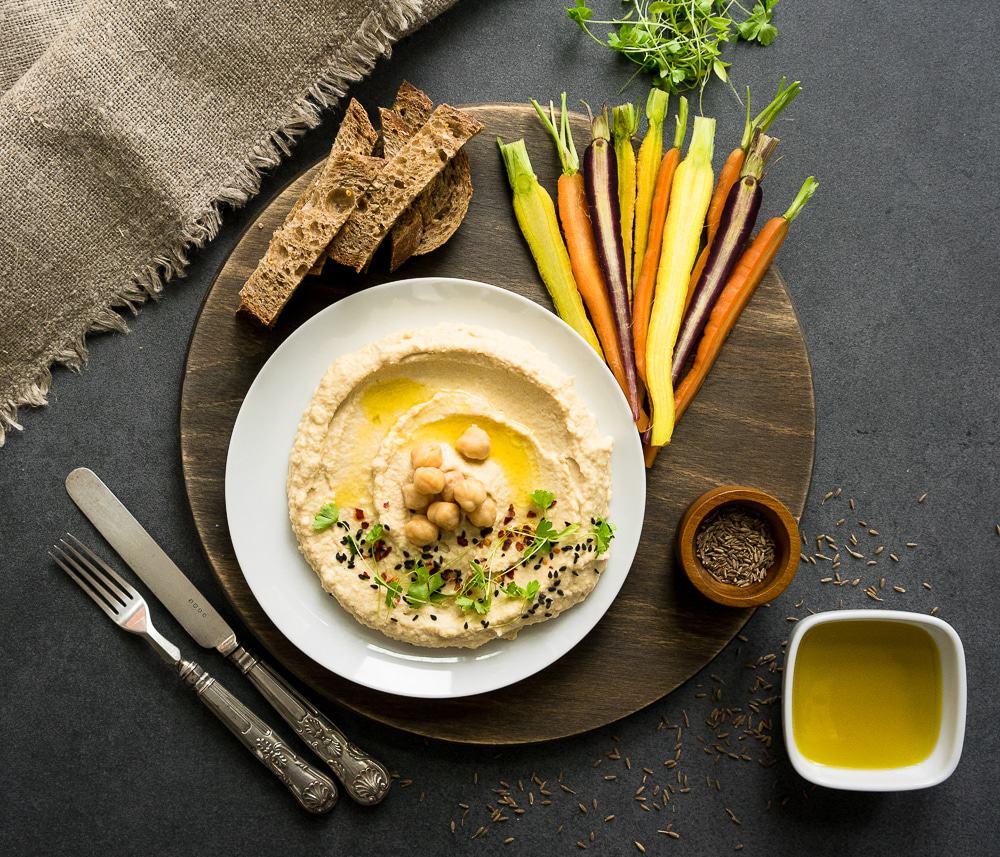 The Perfect 5 Minute Hummus Recipe