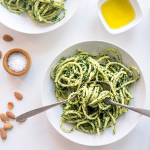 This vegan kale pesto recipe is so good, you will want to eat it every day. A truly sensational seasonal kale pesto recipe that you won't easily forget!