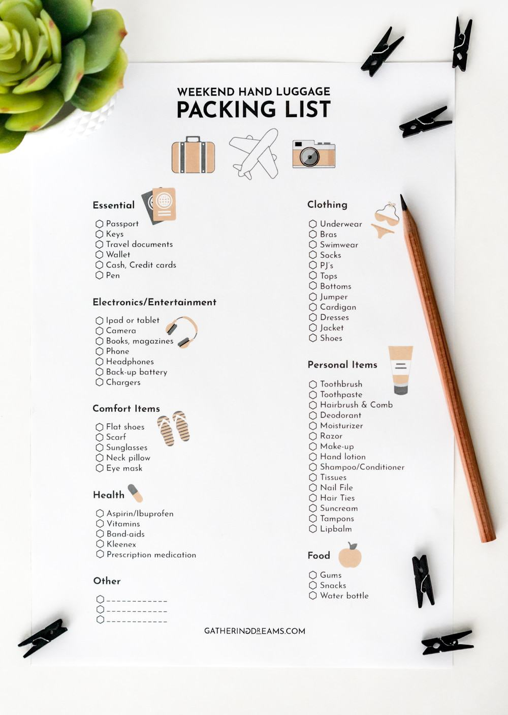 The best packing tips from the pro! The ultimate list of packing mistakes to avoid to ensure you are packing to perfection for your next vacation! Download the ultimate weekend packing check-list.