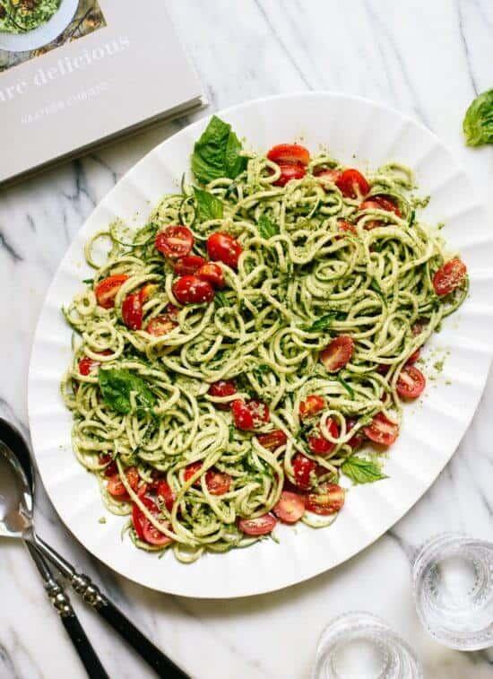 Zucchino Pesto Noodles