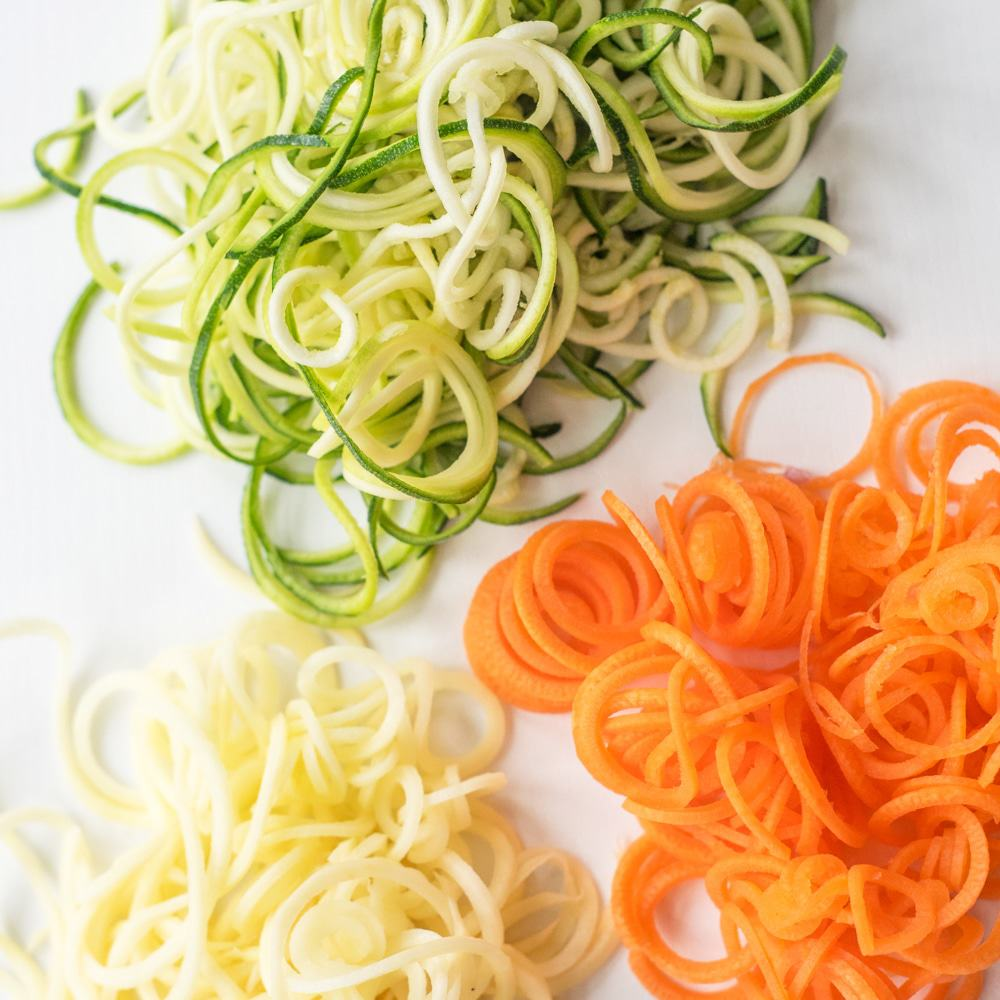 25 Easy Veggie Spiralizer Recipes Tips Gathering Dreams