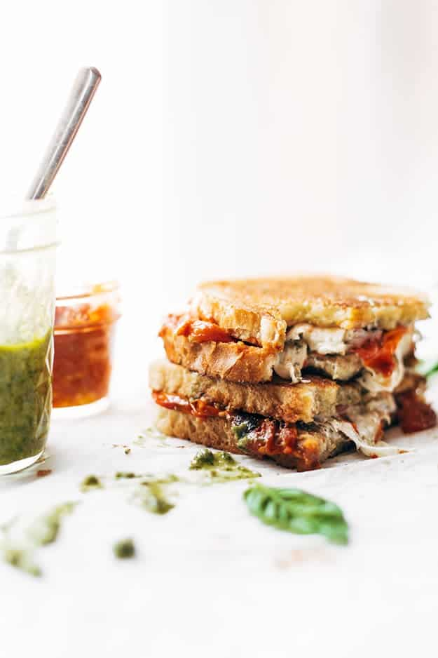 Loaded Caprese Grilled Cheese: Healthy Meal Prep Ideas Ready in 30 minutes or less