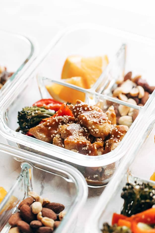 Sheet Pan Garlic Ginger Chicken & Broccoli: Healthy Meal Prep Ideas Ready in 30 minutes or less