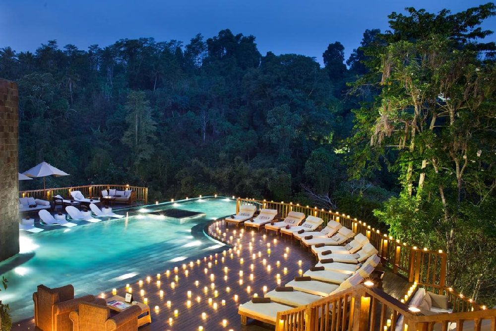 romantic destinations places couples dream location visit getaways holiday dreams stay ubud bali hanging gardens copyright worlds
