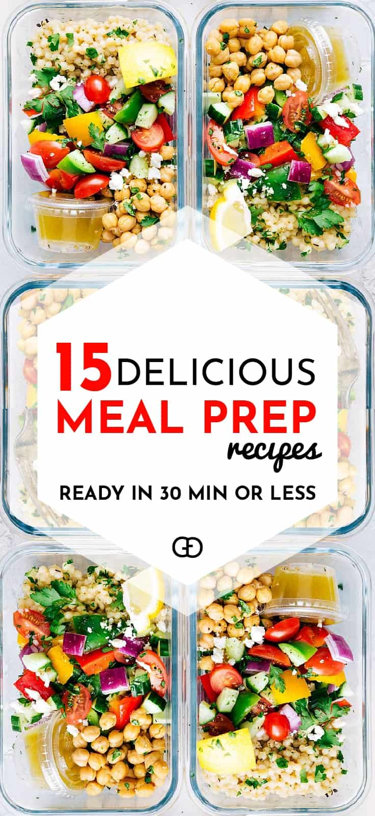 15 Healthy Meal Prep Ideas That Will Make Your Life So Easy ...