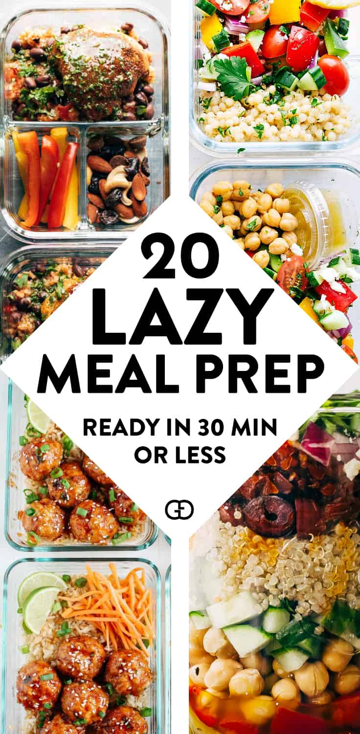 20 Healthy Meal Prep Ideas That Ll Make Your Life So Easy