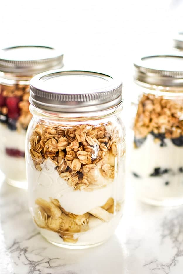 Make-Ahead Fruit & Greek Yoghurt Parfait Ideas: Healthy Meal Prep Ideas Ready in 30 minutes or less