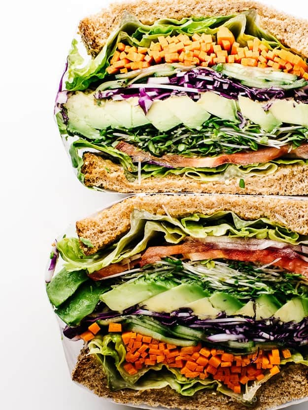 The Ultimate Veggie Sandwich: Healthy Meal Prep Ideas Ready in 30 minutes or less