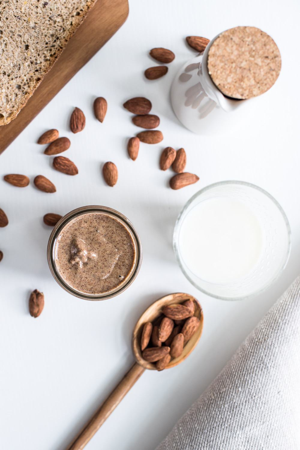 Full of goodness and protein, this awesome almond butter is the perfect snack! All you need are some almond and a food processor, job done!