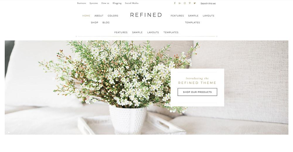 Refined Genesis Theme | How to start a successful blog in 6 simple steps: pick your blog topic, pick a domain name, choose the right platform, buy hosting, install WordPress, select a theme! Ready to make money blogging? I made over $3k after 3 months. You can too!