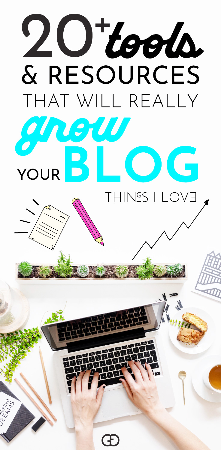 20+ resources and tools that I can't blog without! By using these resources, I grow my blog from 0 to $3k a month in only 3 months! If you want to be successful and grow quickly check out my resources #blogging #makemoney #blogger