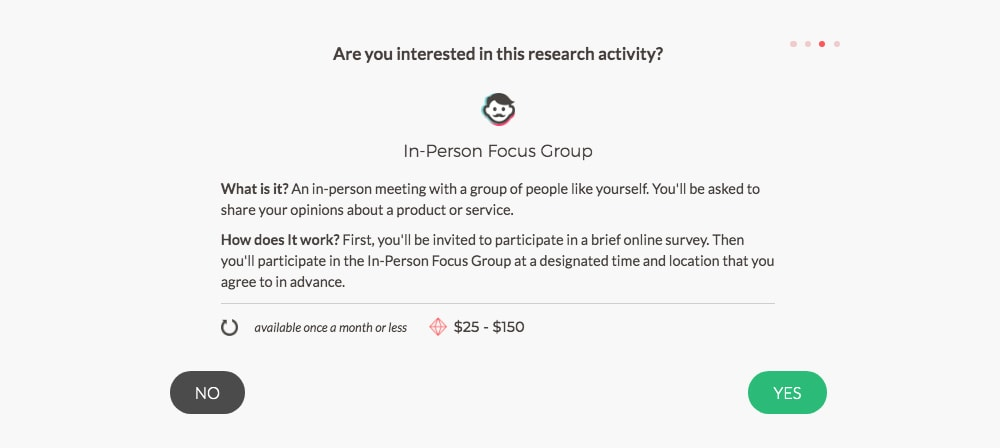 Survey Junkie: Happy to give your views on hair products or politics? If so, it's possible to earn up to $150 an hour, without any special skill with online focus groups.