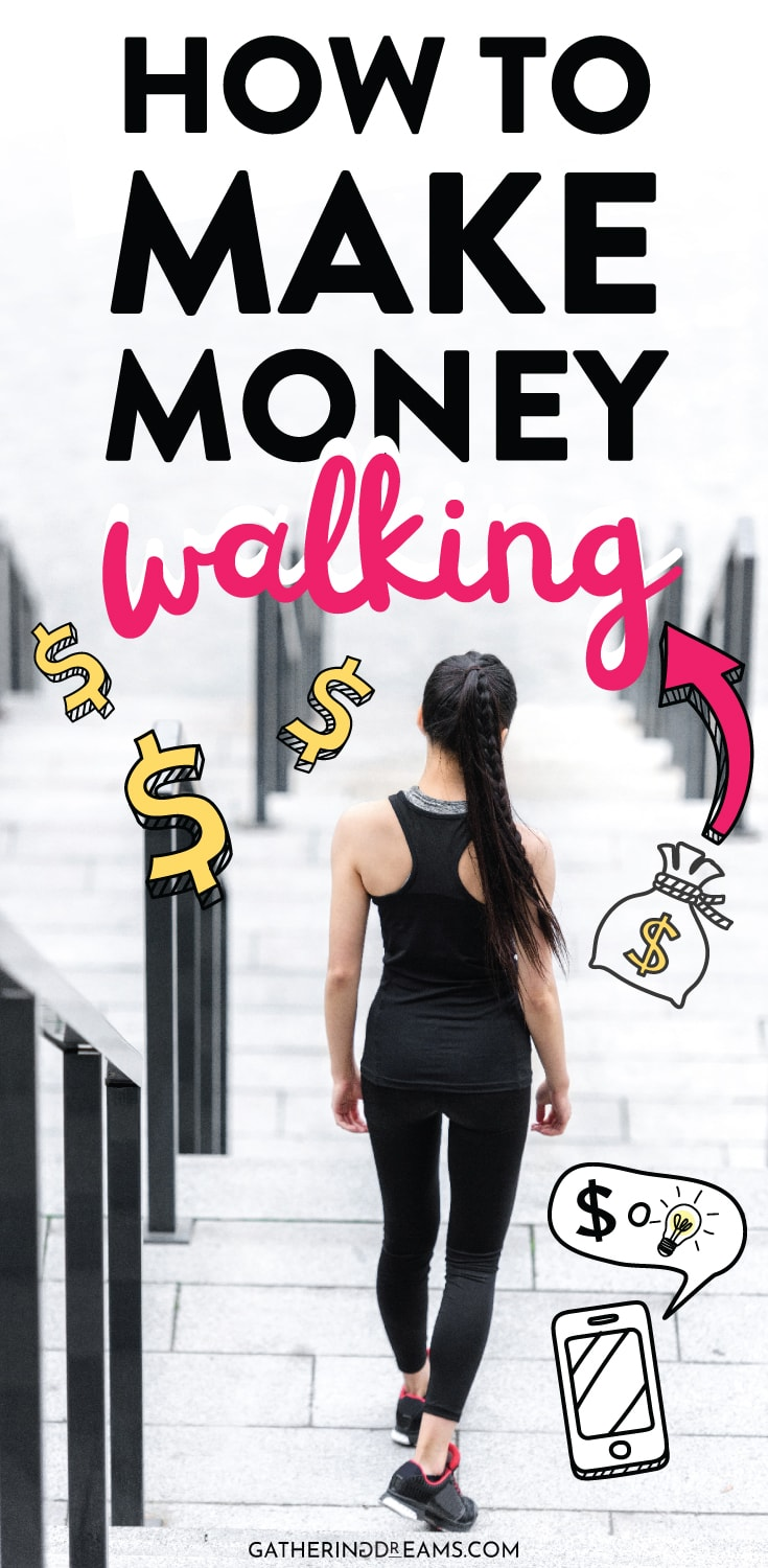 Do you want to make extra money? How about using your smartphone to make money while walking? Sweatcoin is one of the great make money apps that pays you to walk! You get fit and get cash! I LOVE it! #makeextramoney #makemoneyonline #sidehustle