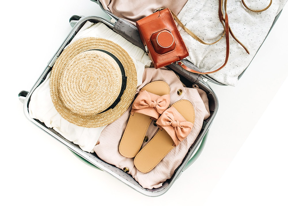 45 genius travel hacks for a stress-free holiday. These travel tips will save you money, time, and space! Try them and you won't be able to stop using them!