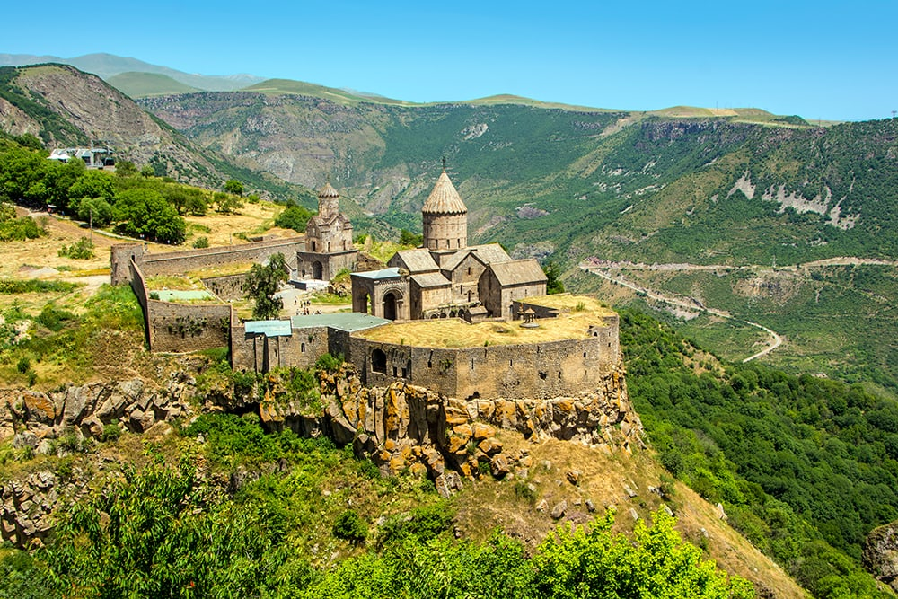 Medieval Tatev monastery, Armenia: a cheap destination to travel to this year!