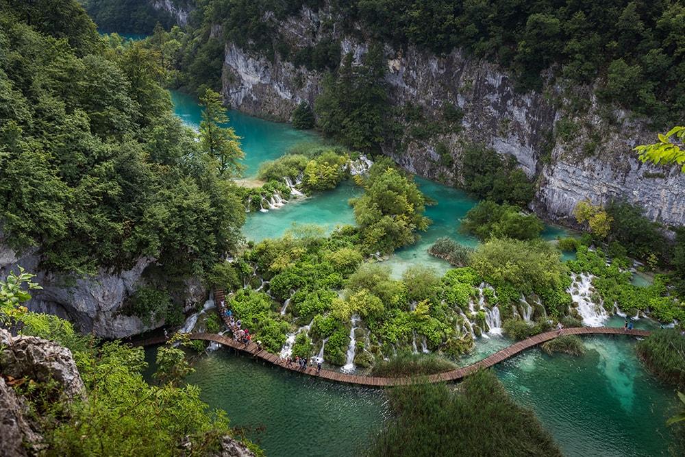 Plitvice Lakes National Park, Croatia: a budget destination in Europe