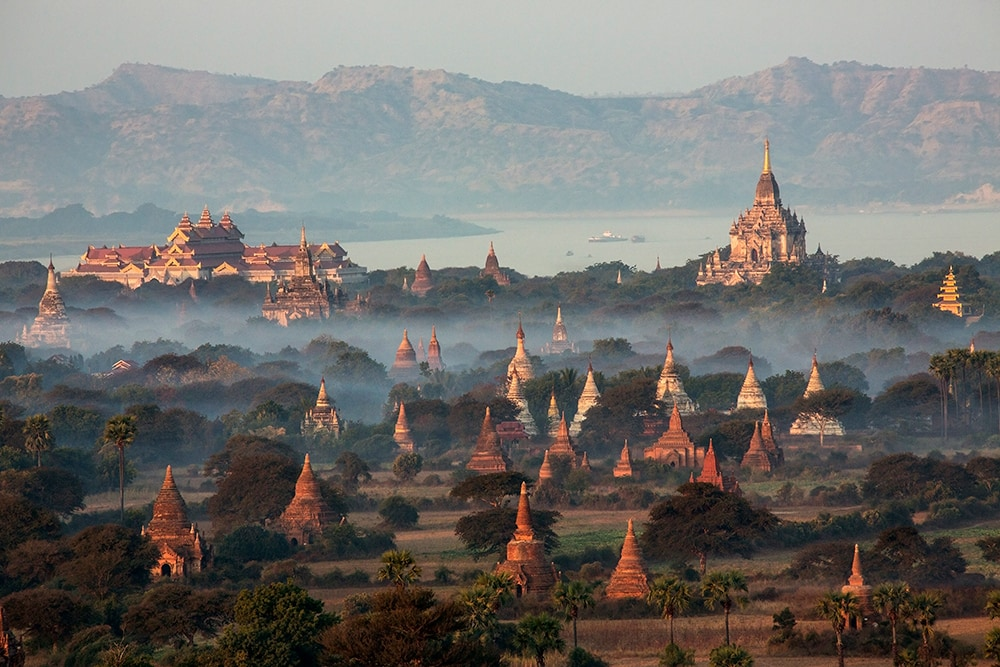 Myanmar: one of the cheapest places to travel to!