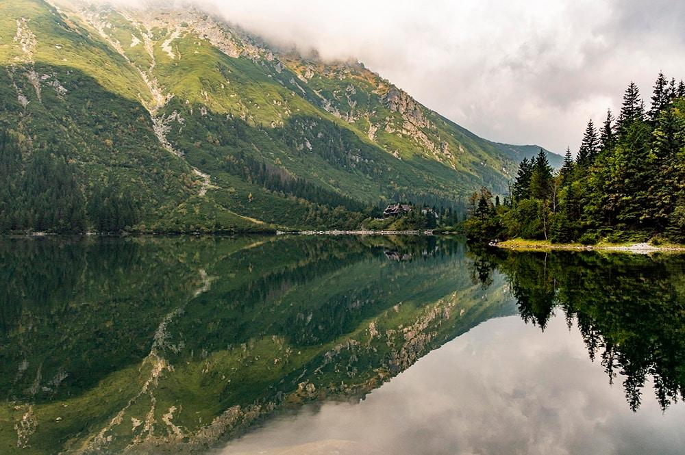 A beautiful lake, Poland