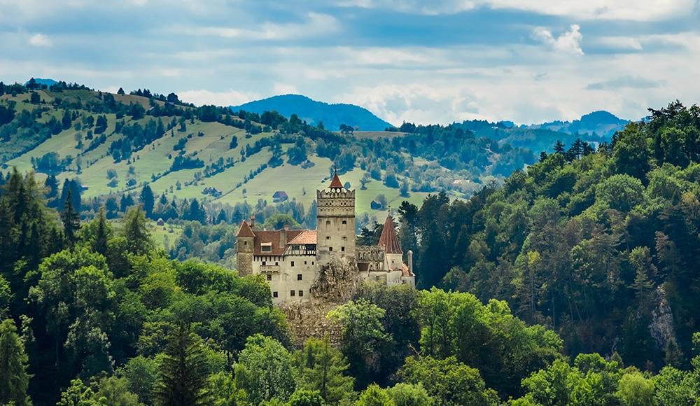 Bran Castle AKA Count Dracula's Castle, Romania