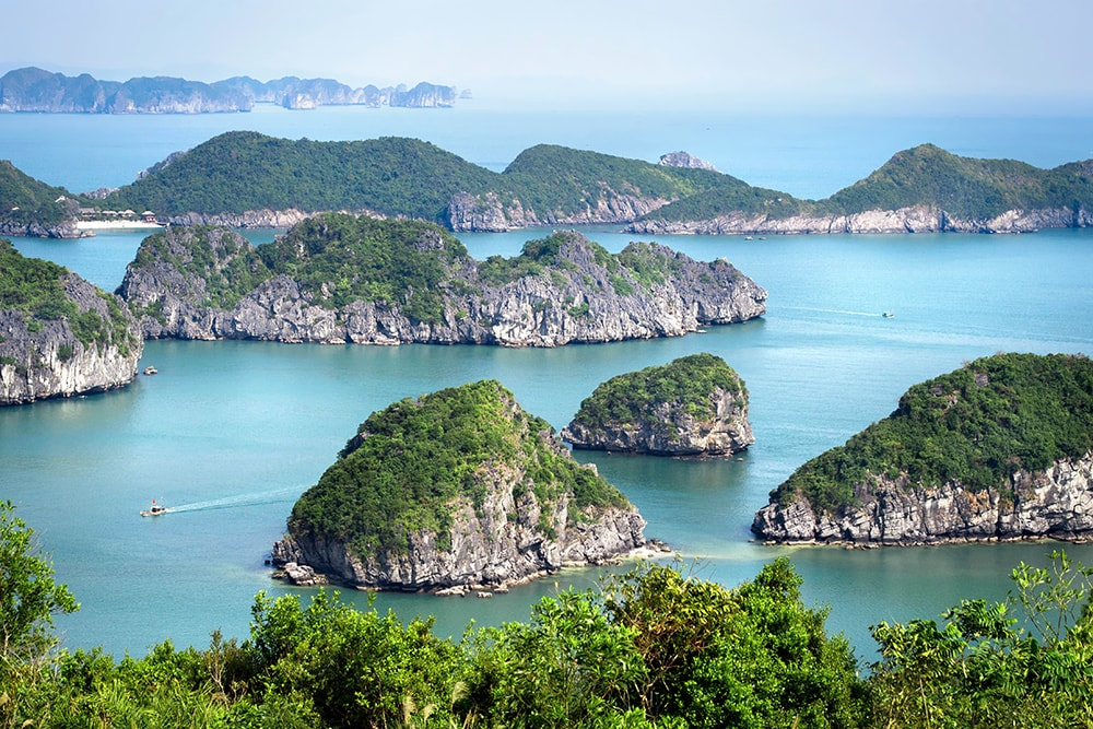 Halong Bay, North Vietnam: one of the cheapest countries to visit!