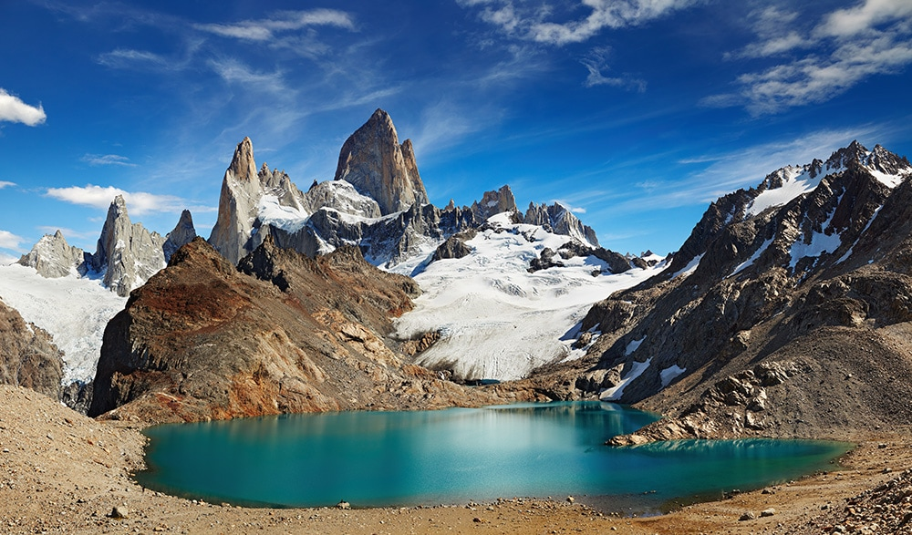 Mount Fitz Roy, Patagonia, Argentina: one of the cheapest countries to visit