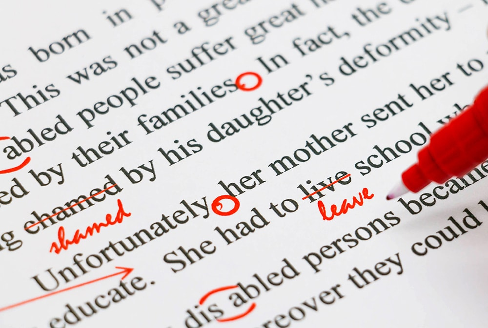 Find mistakes in a written text. If you have an eagle eye, find online proofreading jobs here.