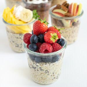Healthy overnight oats: 6 easy recipes!