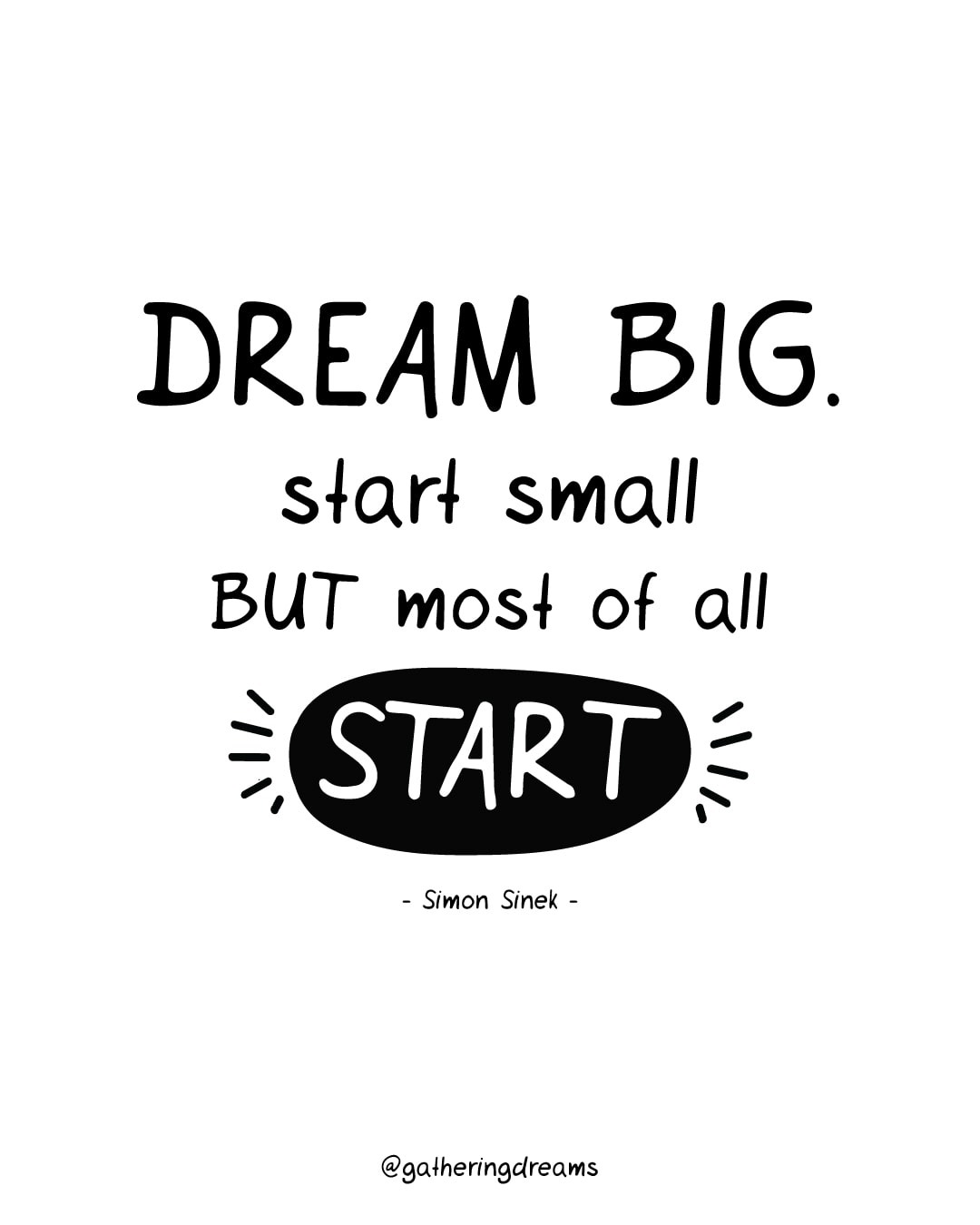 """Dream big. Start Small but most of all start."" - Dreams Quotes #inspiration #inspirationalquotes #motivationalquotes #dreams"