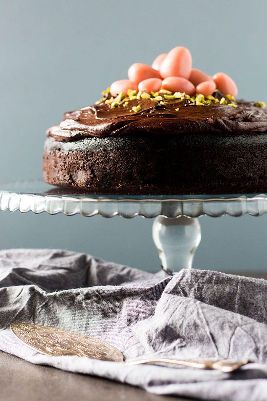 Dark Chocolate Beetroot Cake by Quite Good Food